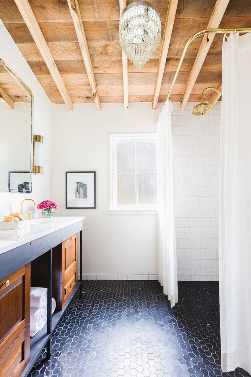If you're planning a remodel and want to open up the room to make it feel more spacious, take notes