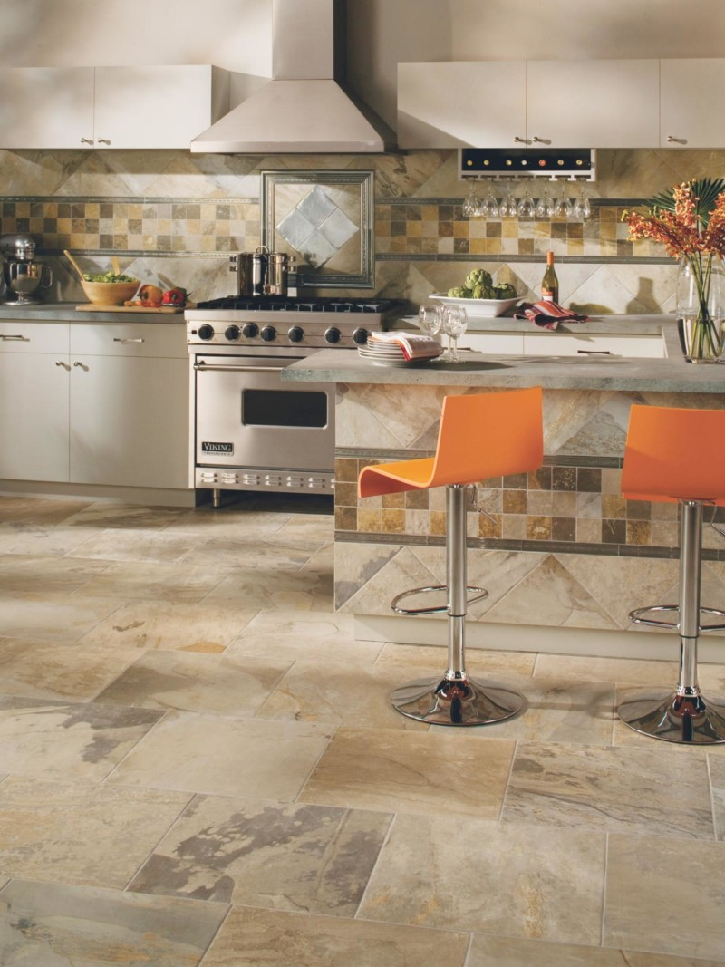 Kitchen Ceramic Tile Ideas - DIY Design & Decor