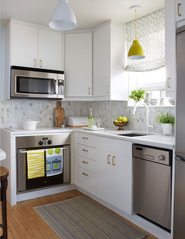 20+ Extremely Creative Small Kitchen Layouts Ideas