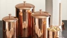 Copper Kitchen Canisters Sets