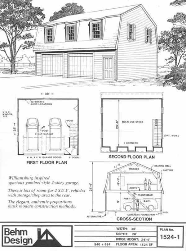 garage building plans ideas