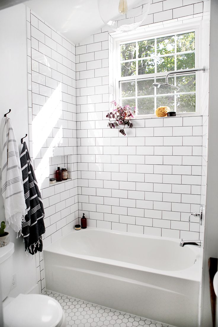 Best 20 white bathroom tiles ideas diy design decor for Bathroom ideas black tiles
