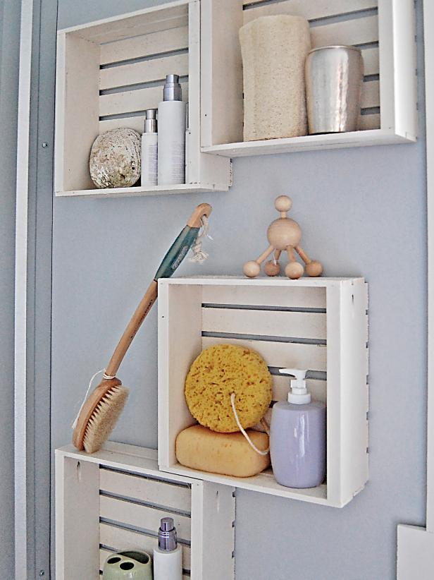 Crate Shelving