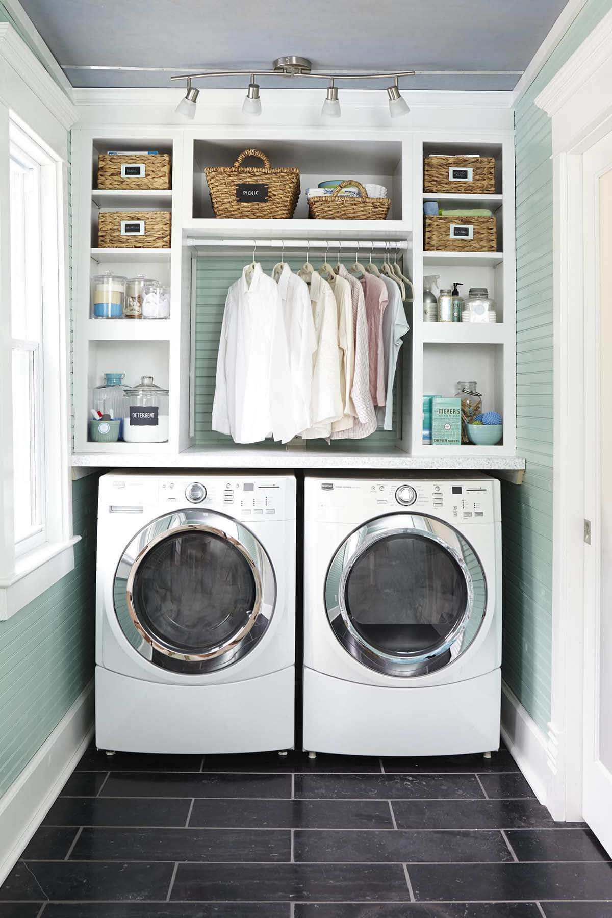 Enjoy the Sunshine in the Laundry Room