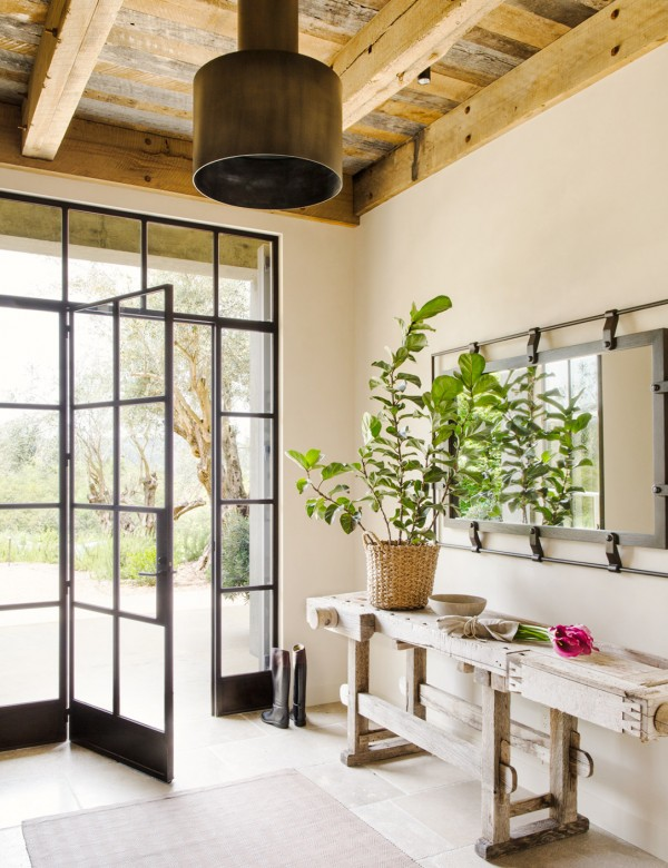 Farmhouse patio door style