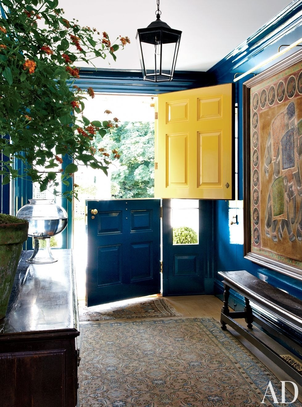 Try a Two-Tone Door